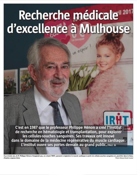 L'Alsace 13 mai 2017 - couverture